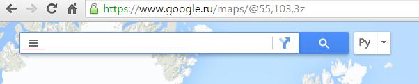 список адресов на карту