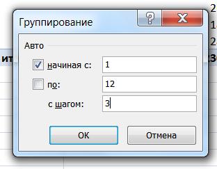 ГруппировкаСводные4